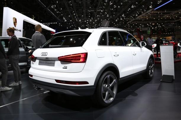 Audi q3 restyl le discret du salon de gen ve l 39 argus for Salon discret