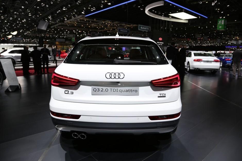Audi q3 restyl le discret du salon de gen ve photo 7 for Salon discret
