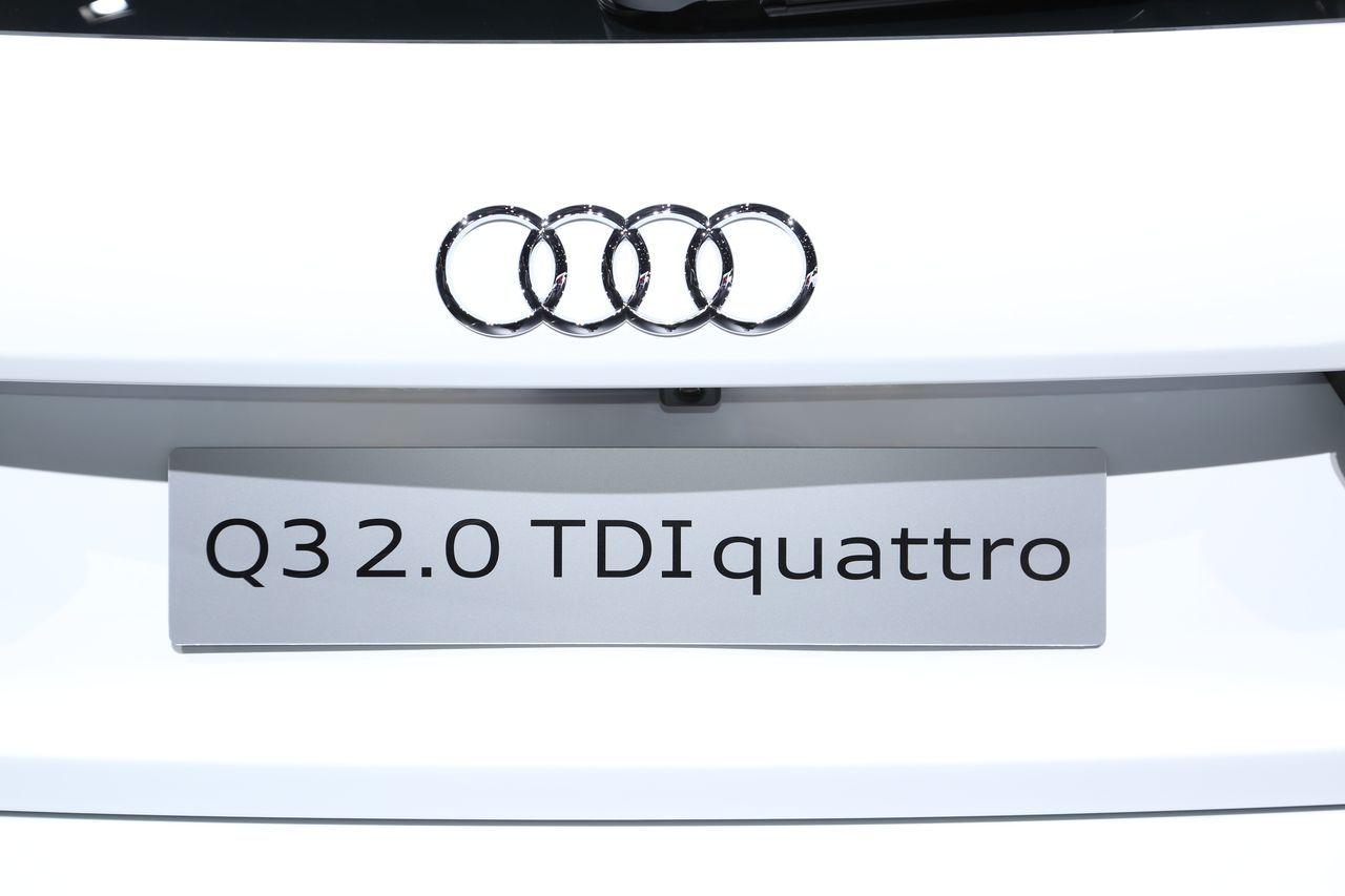 Audi q3 restyl le discret du salon de gen ve photo 8 for Salon discret