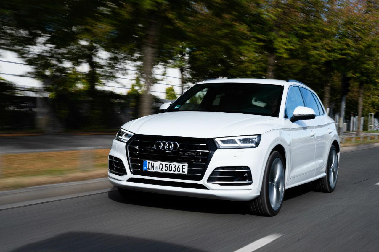 Essai Audi Q5 Hybride Rechargeable Bon En Societe