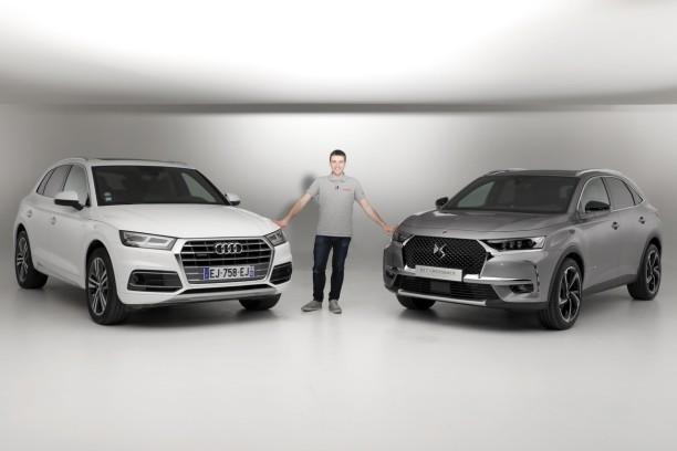 Audi Q5 Dimensions >> DS 7 Crossback vs Audi Q5 : premier match exclusif en vidéo - L'argus