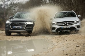 Audi Q5 vs Mercedes GLC (2017)