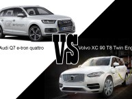 Audi Q7 e-tron quattro VS Volvo Xc 90 T8 Twin Engine : les SUV plug-in