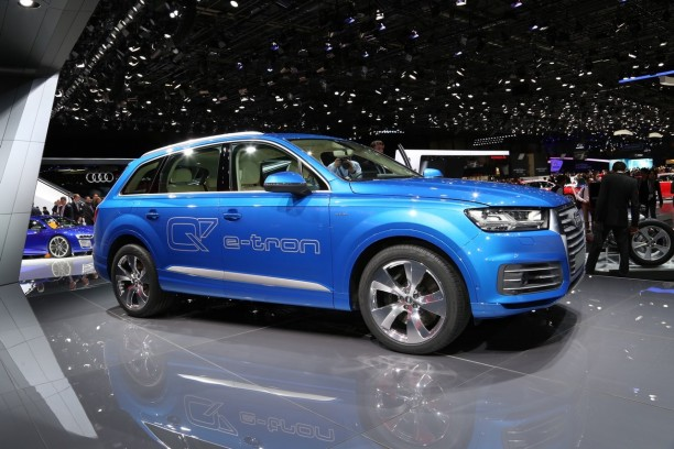 audi q7 e tron quattro seulement 1 7 litres aux 100km l 39 argus. Black Bedroom Furniture Sets. Home Design Ideas