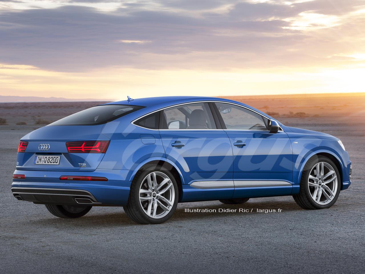 Audi Q8 2020 Les Bmw X6 Et Mercedes Gle Coup 233 Sont