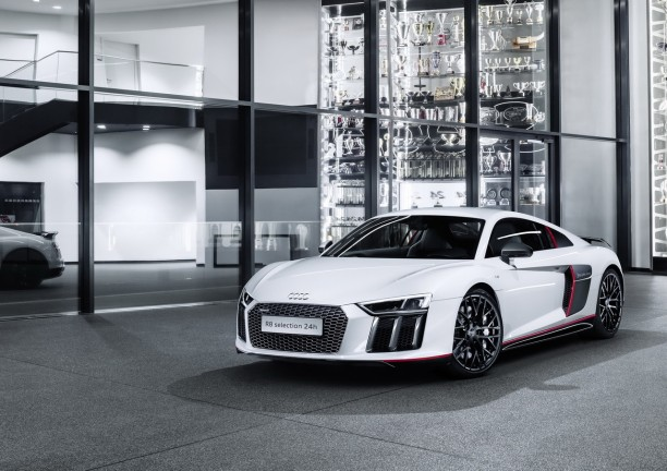 audi r8 v10 plus selection 24h 3 exemplaires pour la france l 39 argus. Black Bedroom Furniture Sets. Home Design Ideas