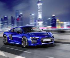 Audi R8 e-tron piloted drive roulante