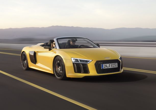 prix audi r8 spyder 2016 des tarifs partir de 184 000 euros l 39 argus. Black Bedroom Furniture Sets. Home Design Ideas