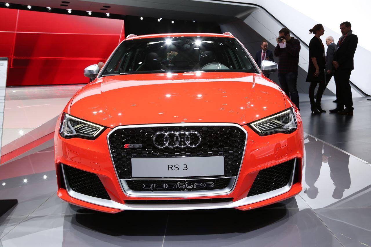 Audi rs3 une nerveuse au salon de gen ve l 39 argus for Salon de geneve tarif