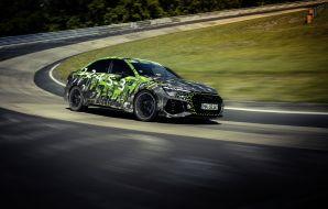 audi rs3 record nürburgring