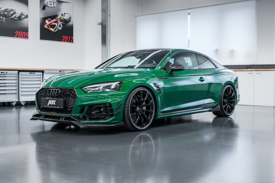 audi rs5 r abt sportsline une audi rs5 de 530 ch photo 1 l 39 argus. Black Bedroom Furniture Sets. Home Design Ideas