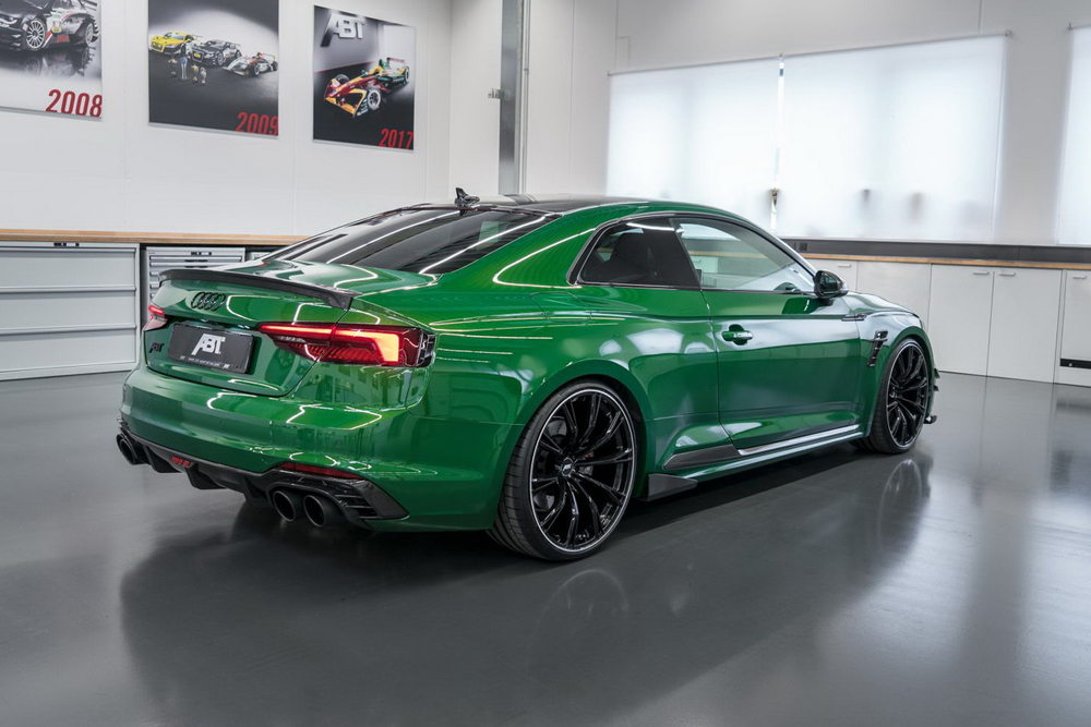 audi rs5 r abt sportsline une audi rs5 de 530 ch photo 3 l 39 argus. Black Bedroom Furniture Sets. Home Design Ideas
