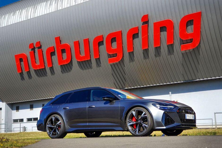 Essai extrême Audi RS6 Avant : le Nürburgring en gros ...