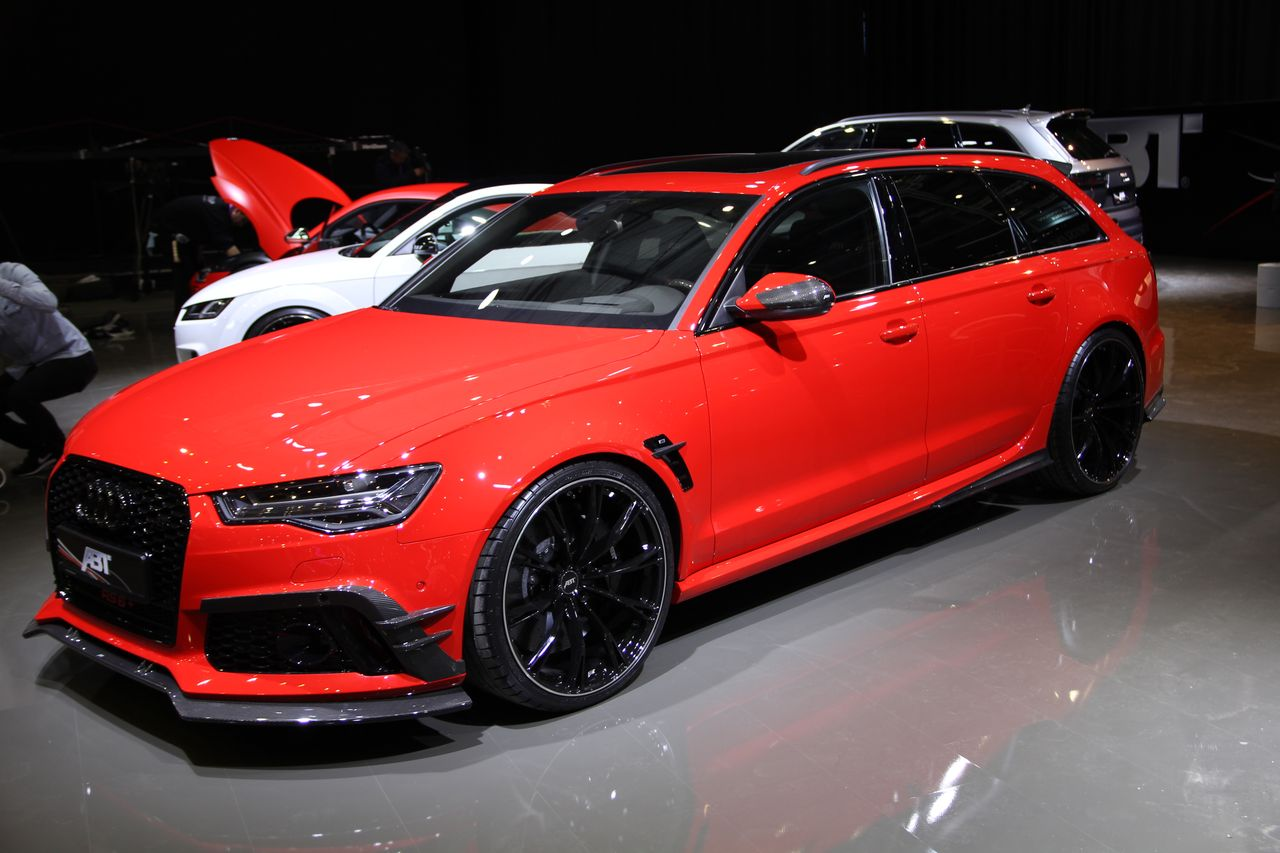 ABT RS6+ : un break de choc
