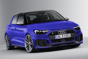 Audi S1 2019 illustration Didier Ric Largus.fr