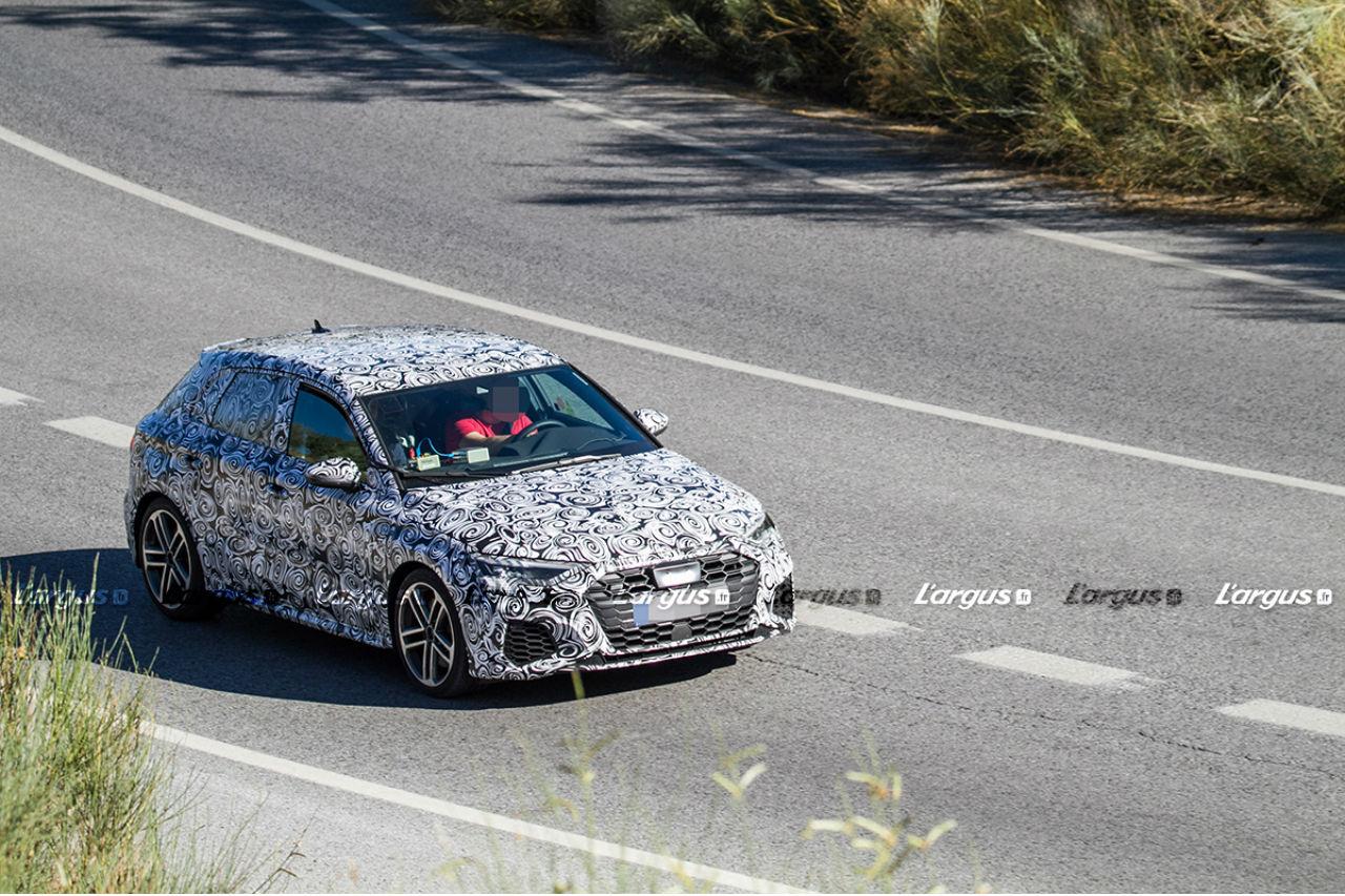Audi A3 (2020): les premières images de la nouvelle S3 Sportback