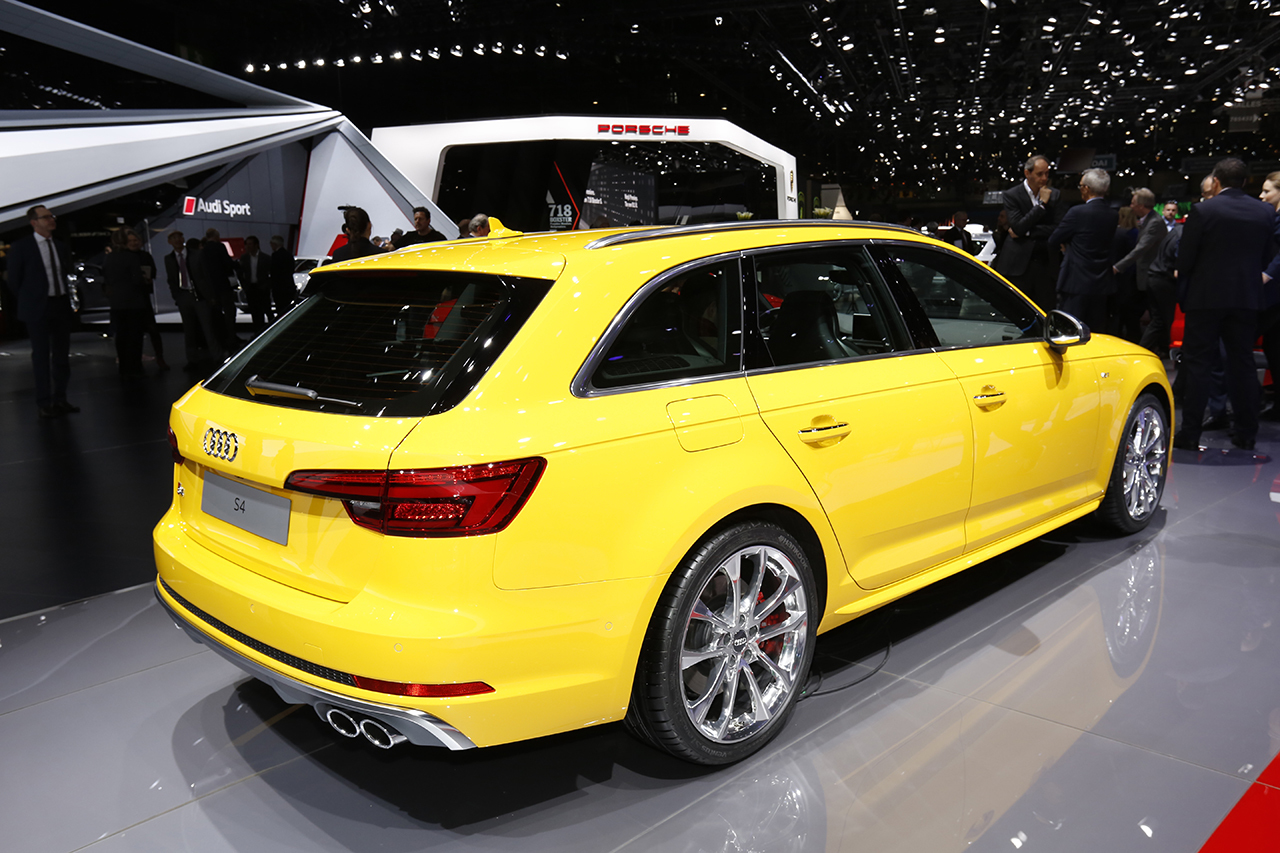 audi s4 avant 2016 les photos en direct du salon de gen ve 2016 l 39 argus. Black Bedroom Furniture Sets. Home Design Ideas