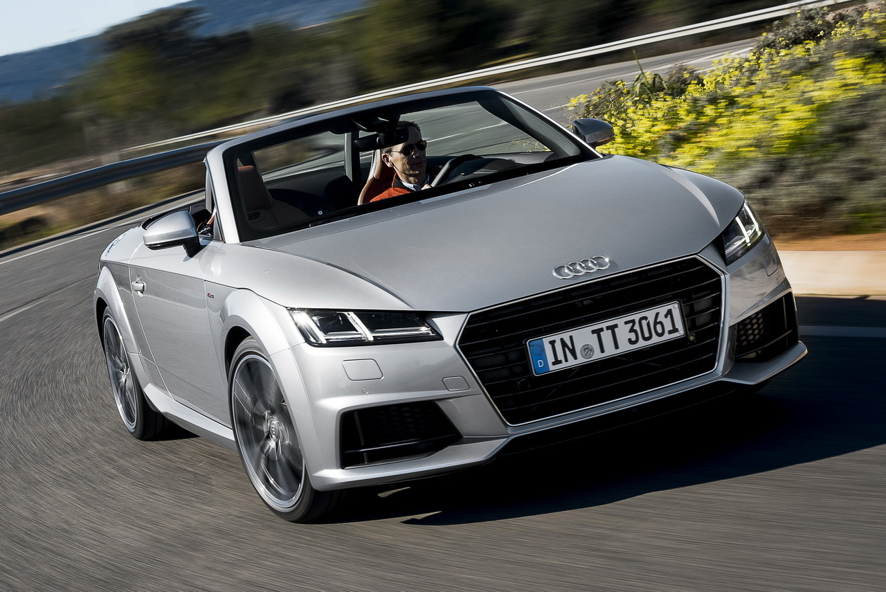 essai audi tt roadster 2015 le culte du plaisir l 39 argus. Black Bedroom Furniture Sets. Home Design Ideas