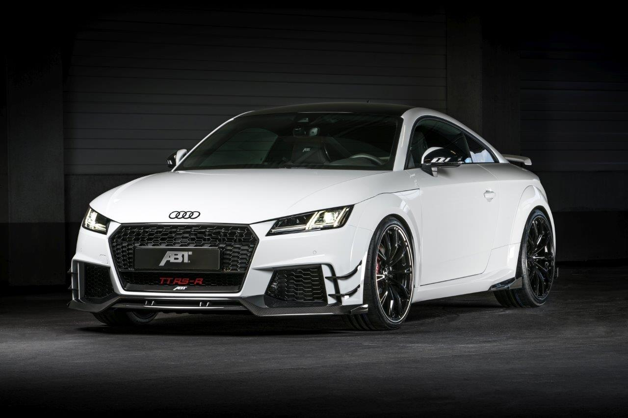 audi tt rs r abt 500 ch sous le capot photo 1 l 39 argus. Black Bedroom Furniture Sets. Home Design Ideas