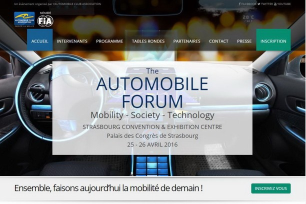 automobile forum 2016 strasbourg capitale de la mobilit du futur l 39 argus. Black Bedroom Furniture Sets. Home Design Ideas