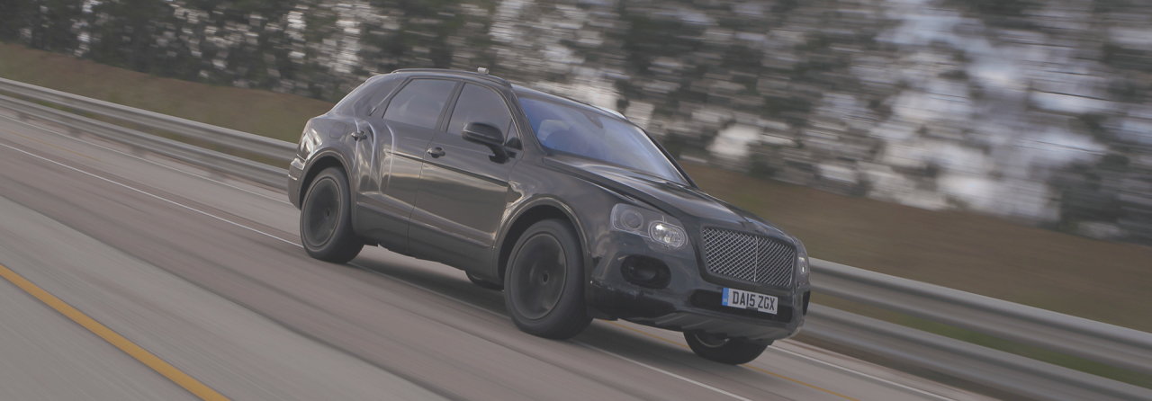bentley bentayga 2016 le suv le plus rapide du monde en vid o l 39 argus. Black Bedroom Furniture Sets. Home Design Ideas