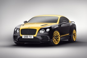 bentley continental 24 jaune noire