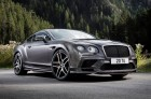 Bentley Continental Supersports 2017 vue avant couleur grise