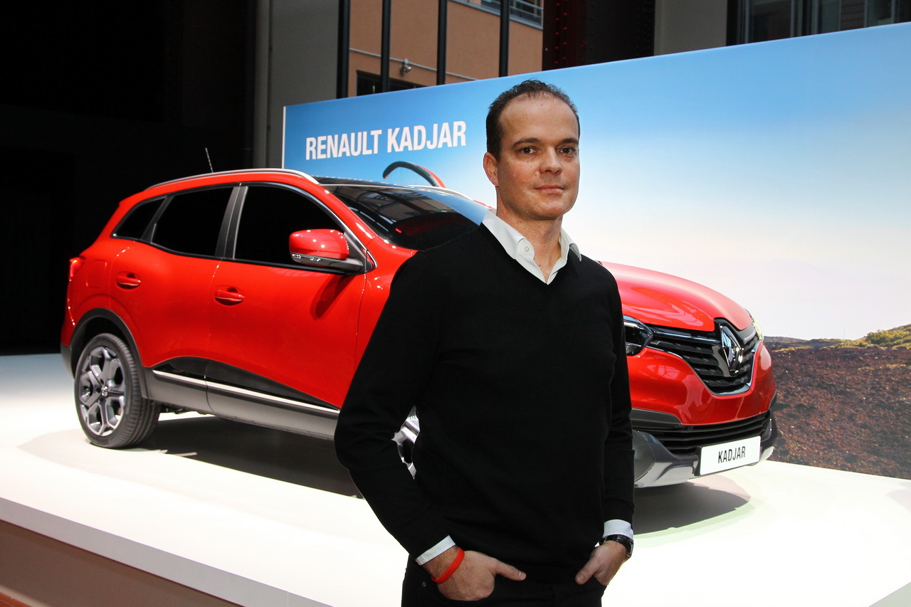 interview bertrand grisard designer ext rieur du renault kadjar renault auto evasion. Black Bedroom Furniture Sets. Home Design Ideas