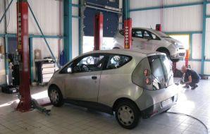 Bolloré Bluecar garage révision entretien