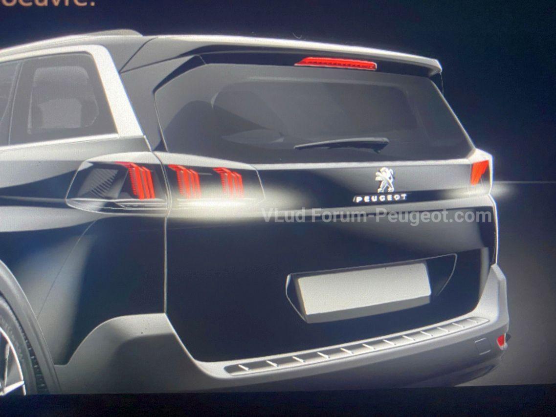 Peugeot 5008 (2020) : le restylage annoncé pour la rentrée
