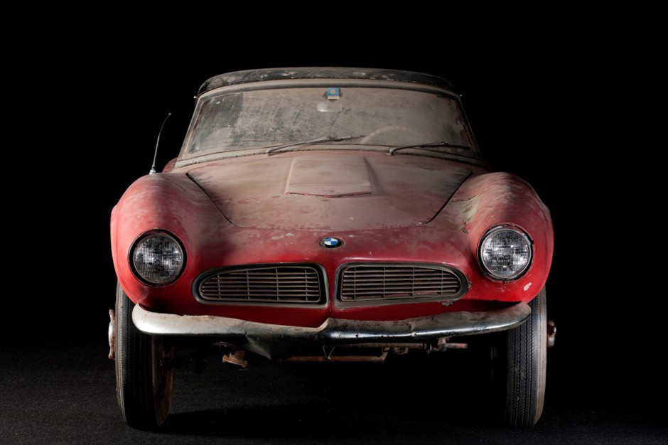 la folie des sorties de grange partie 2 bmw 507 l 39 argus. Black Bedroom Furniture Sets. Home Design Ideas
