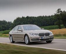 3/4 avant BMW 740Le iPerformance