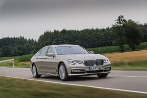 3/4 avant BMW 740Le iPerformance