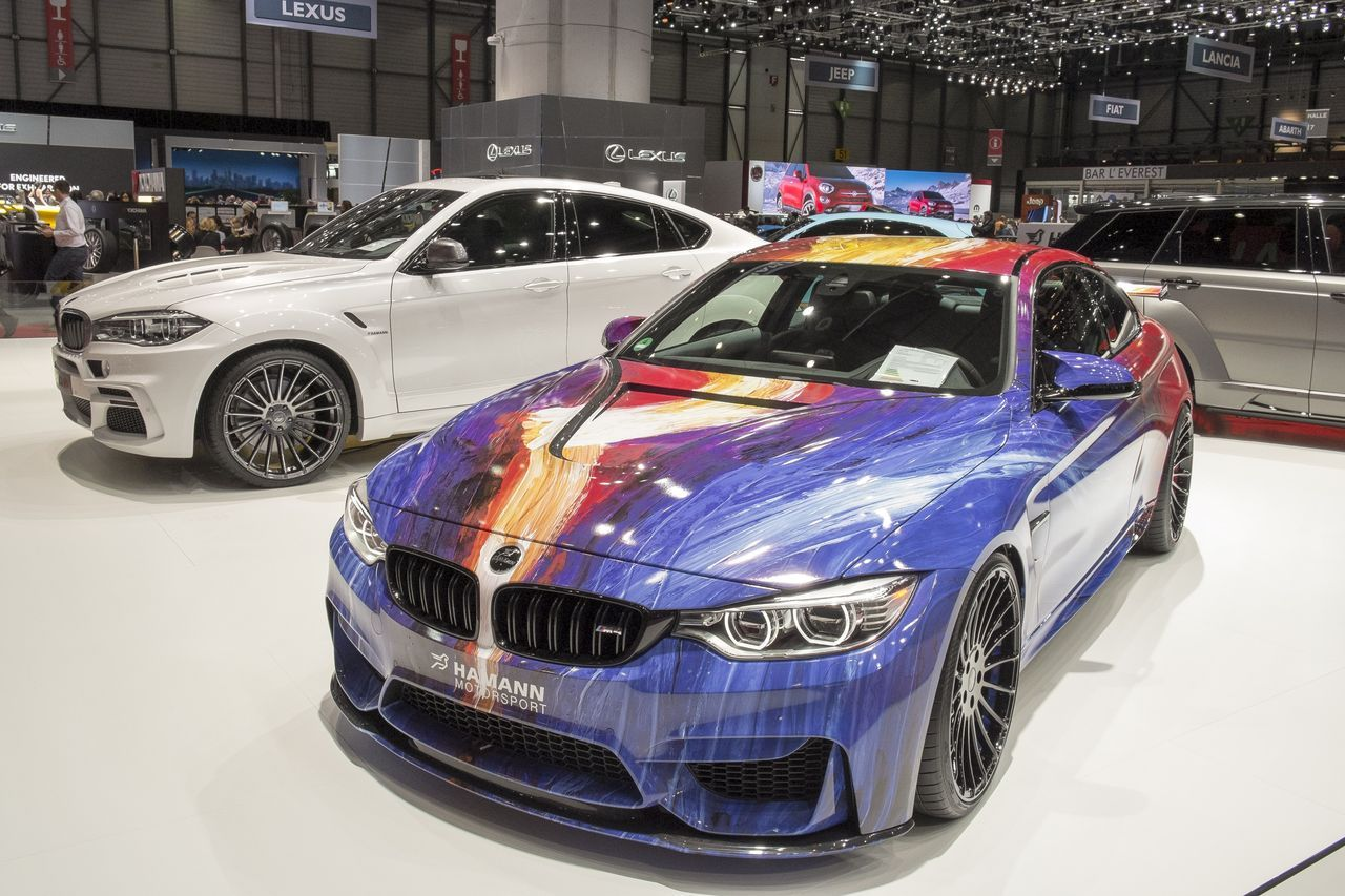 Bmw m4 hamann la plus color e des bmw l 39 argus - Geneve 2015 salon ...