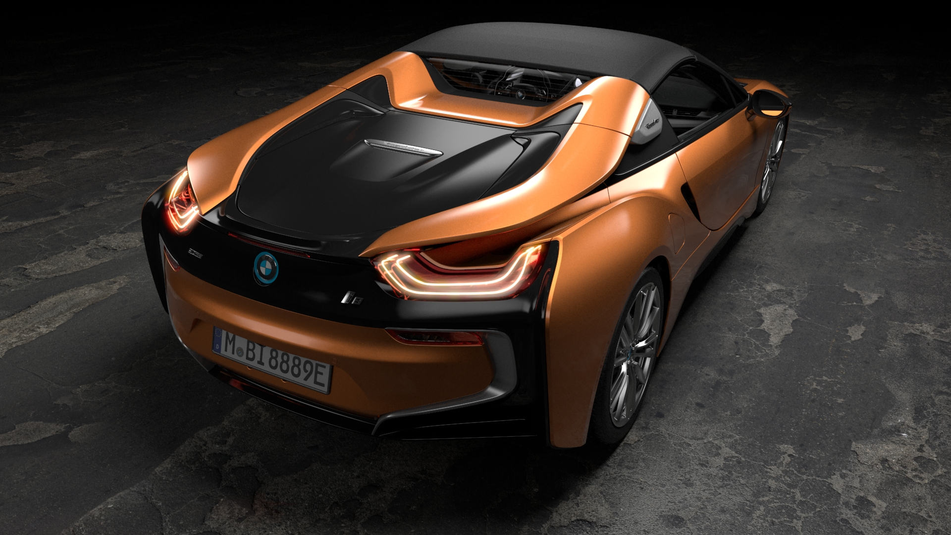 bmw i8 enfin la version roadster photo 18 l 39 argus. Black Bedroom Furniture Sets. Home Design Ideas
