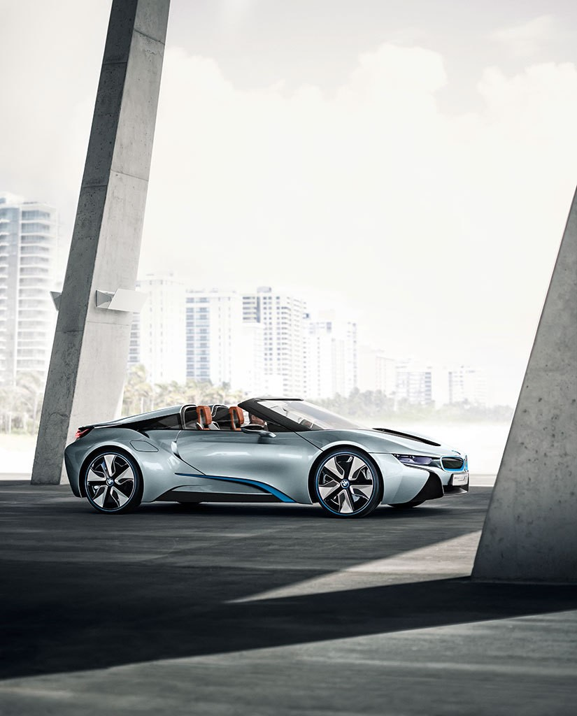 bmw i8 concept spyder l 39 i8 bient t en cabriolet photo 4 l 39 argus. Black Bedroom Furniture Sets. Home Design Ideas