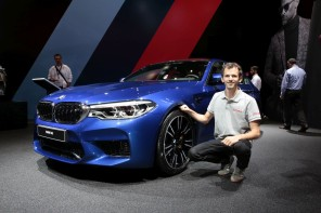 BMW M5 (salon de Francfort 2017)