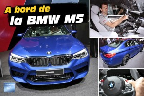 BMW M5 salon de Francfort