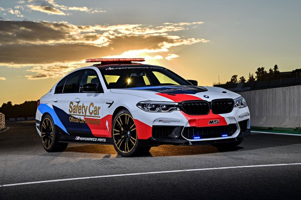 bmw m5 2018 nouvelle safety car pour le motogp l 39 argus. Black Bedroom Furniture Sets. Home Design Ideas
