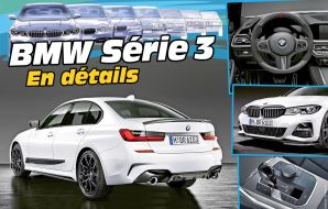 Nouvelle BMW Série 3 2019 G20 M Performance parts