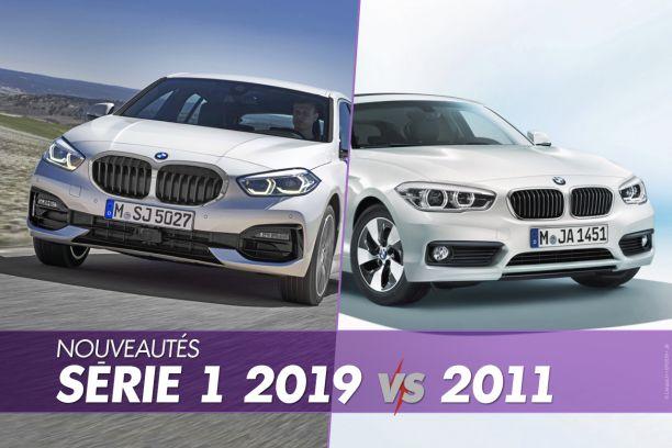 Nouvelle Bmw Serie 1 2019 Vs Ancienne Tout Ce Qui Change