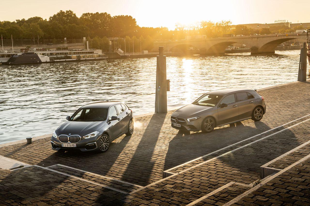 Essai comparatif : la BMW Série 1 défie la Mercedes Classe A