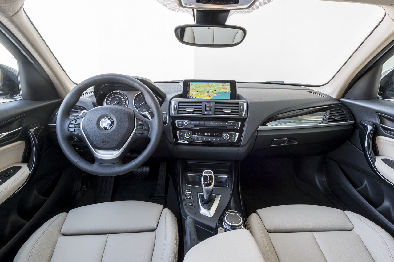 Bmw 120d la nouvelle s rie 1 2015 l 39 essai photo for Serie 1 interieur