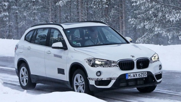 bmw x1 hybride plug in premi res photos des prototypes. Black Bedroom Furniture Sets. Home Design Ideas