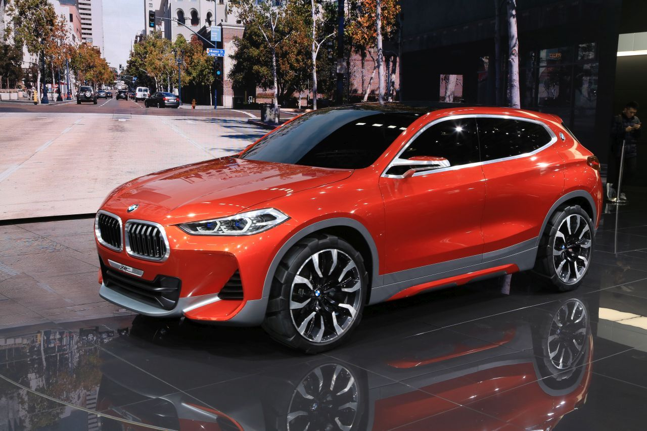 les premi res mondiales au salon de l 39 automobile de paris 2016 bmw x2 concept l 39 argus. Black Bedroom Furniture Sets. Home Design Ideas