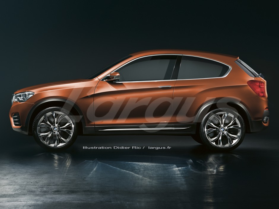 les nouveaut s attendues en 2016 bmw x2 automne 2016 l 39 argus. Black Bedroom Furniture Sets. Home Design Ideas