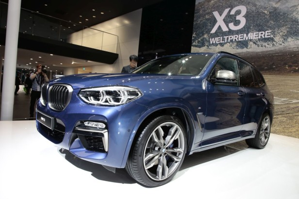 BMW X3 (salon de Francfort 2017)
