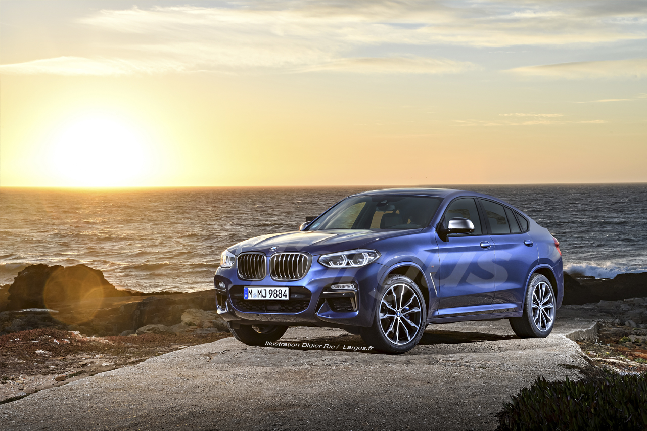 bmw x4 2 2018 premi re mondiale au salon de gen ve photo 2 l 39 argus. Black Bedroom Furniture Sets. Home Design Ideas
