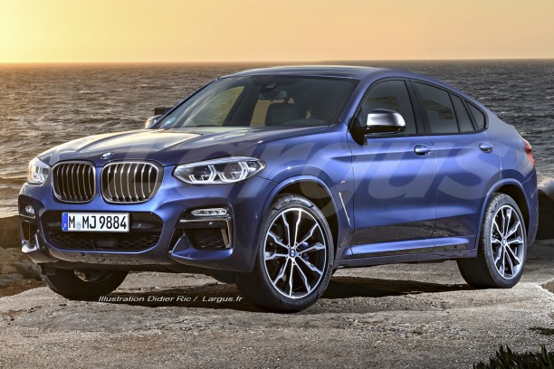 bmw x4 2 2018 premi re mondiale au salon de gen ve l 39 argus. Black Bedroom Furniture Sets. Home Design Ideas