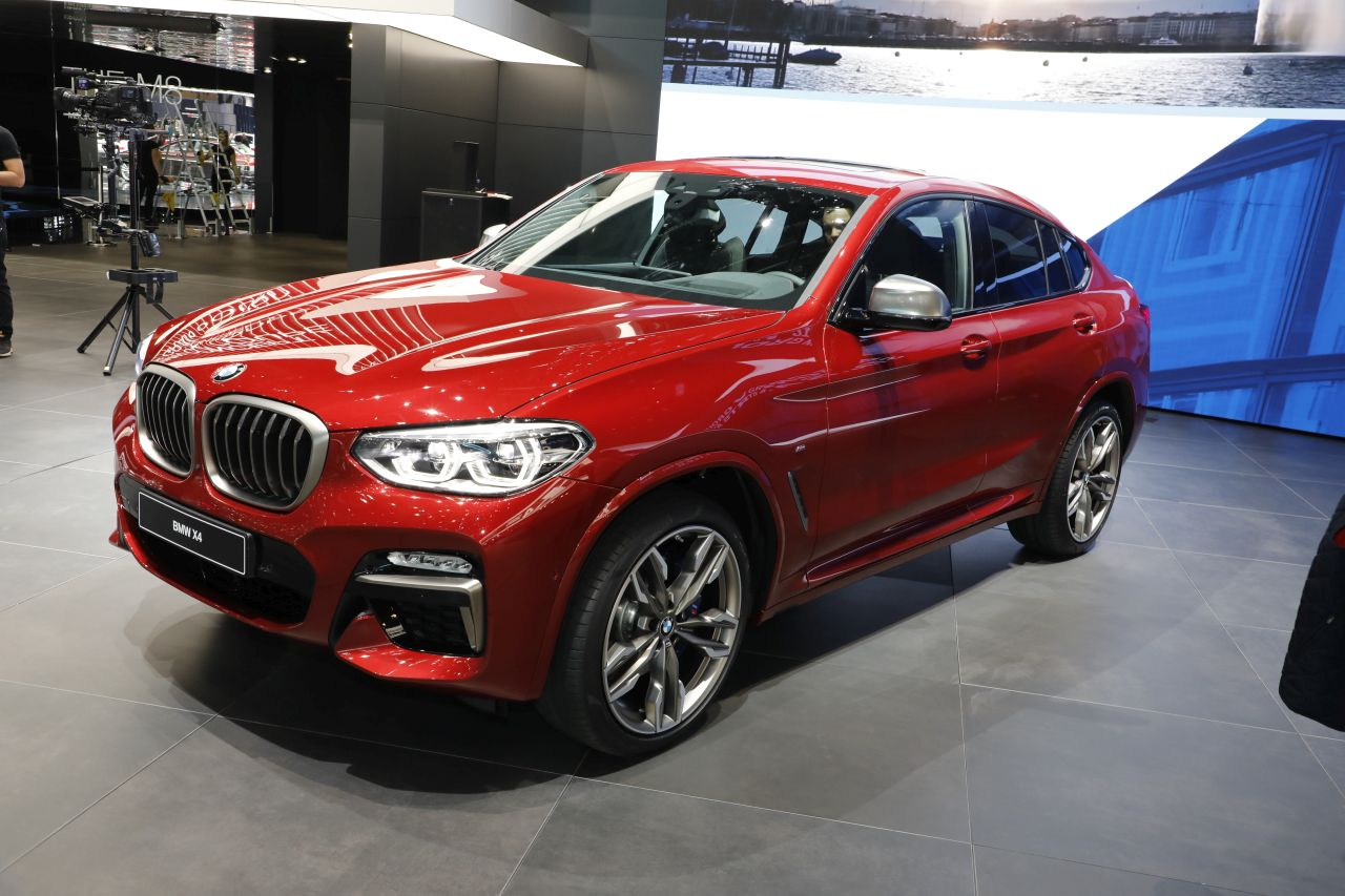 les nouveaux suv du salon de gen ve 2018 bmw x4 l 39 argus. Black Bedroom Furniture Sets. Home Design Ideas